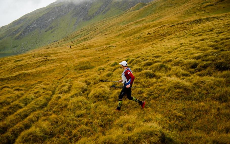 The TDS course is said to be the most rugged of the four courses featured at the UTMB. The course was marked, but the markers could be missed if runners didn't pay attention.