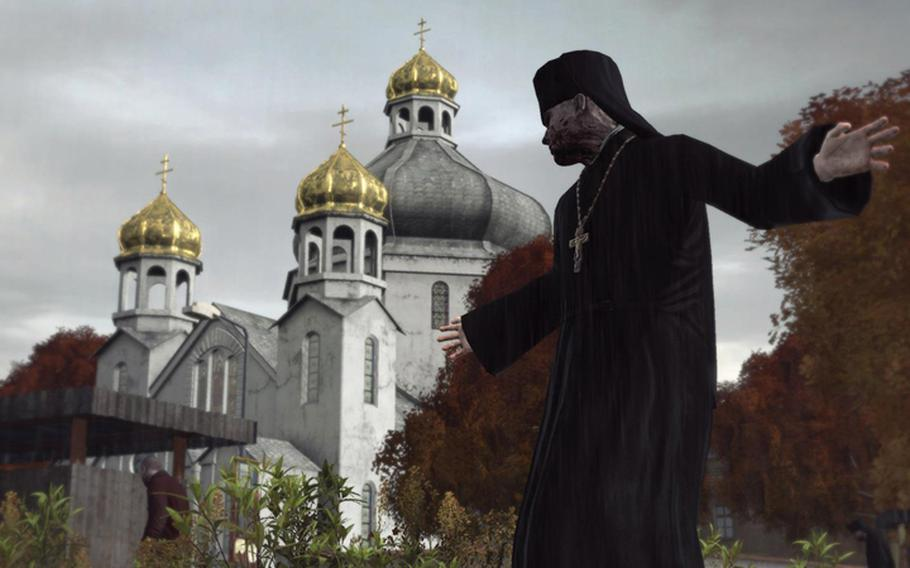 """This screenshot provided by Bohemia Interactive shows """"DayZ,"""" a post-apocalyptic survival game that takes place in the Russian countryside. Since its release earlier this year, the mod has garnered more than a million players."""