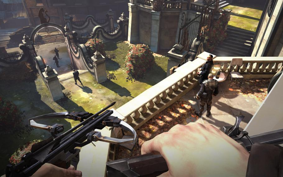 """""""Dishonored"""" mixes the best elements of the parkour of """"Assassin's Creed"""" and the stealth combat of """"Splinter Cell"""" and adds a host of interesting mystical abilities."""