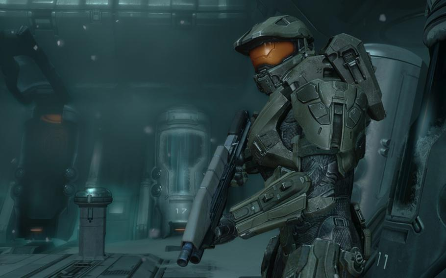 """The fourth installment of the Halo franchise, """"Halo 4,"""" receives a much-needed face lift from new developer 343 Industries, with new multiplayer game play and an emphasis on level exploration."""