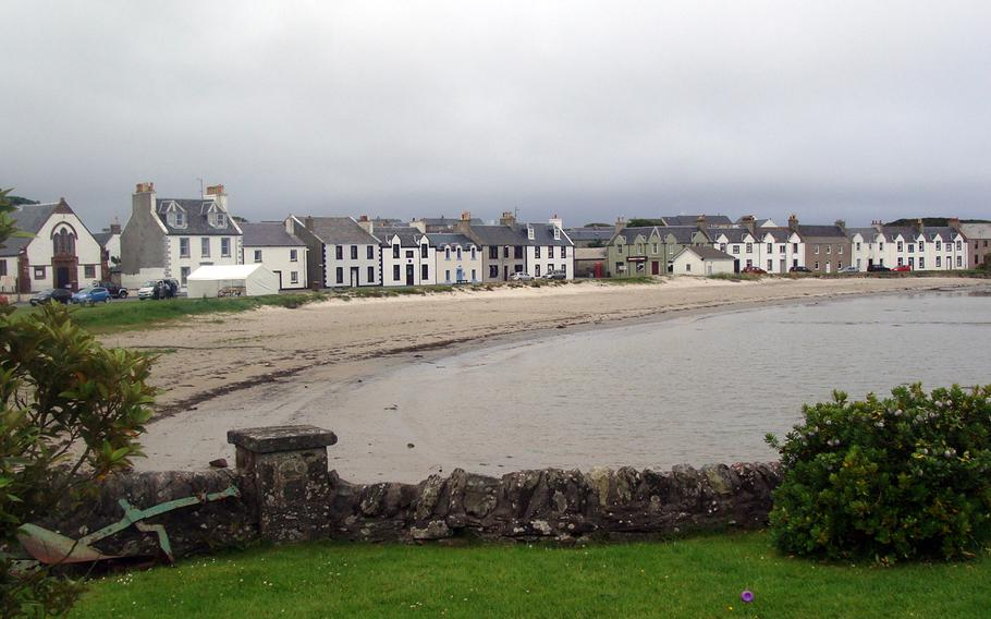 Isle of Islay's village of Port Ellen is a good jumping-off point for whisky-tasting and a visit to the American war memorial.