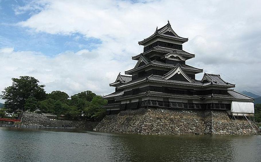 Matsumoto Castle, which began construction in 1592, is one of four castles designated as national treasures by Japan.