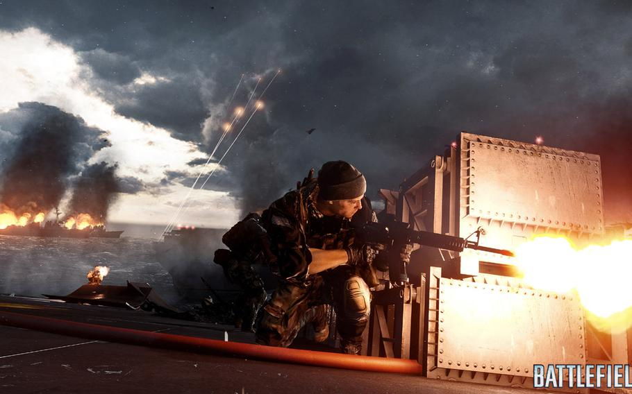 """""""Battlefield 4"""" incorporates a single-player campaign instead of its usual teamwork, large-combat approach. As a result, it plays like a lot of other recent shooters."""