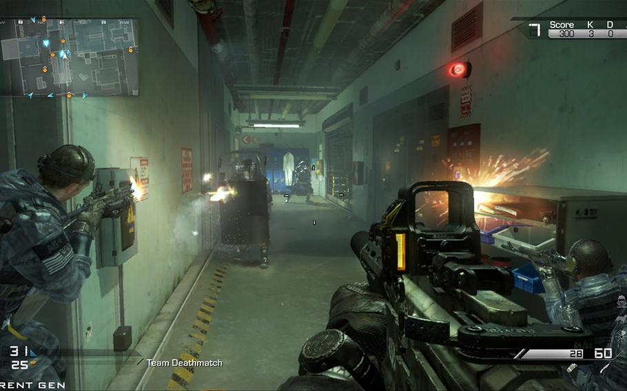 """""""Call of Duty: Ghosts"""" brings new weapons and a diverse set of missions and activities."""