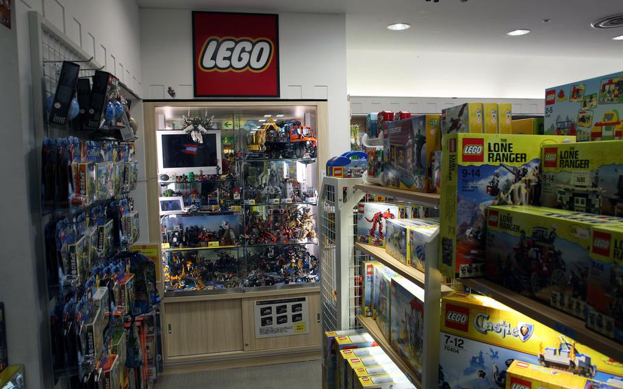 Hakuhinkan Toy Park in Ginza has an impressive collection of Lego sets.