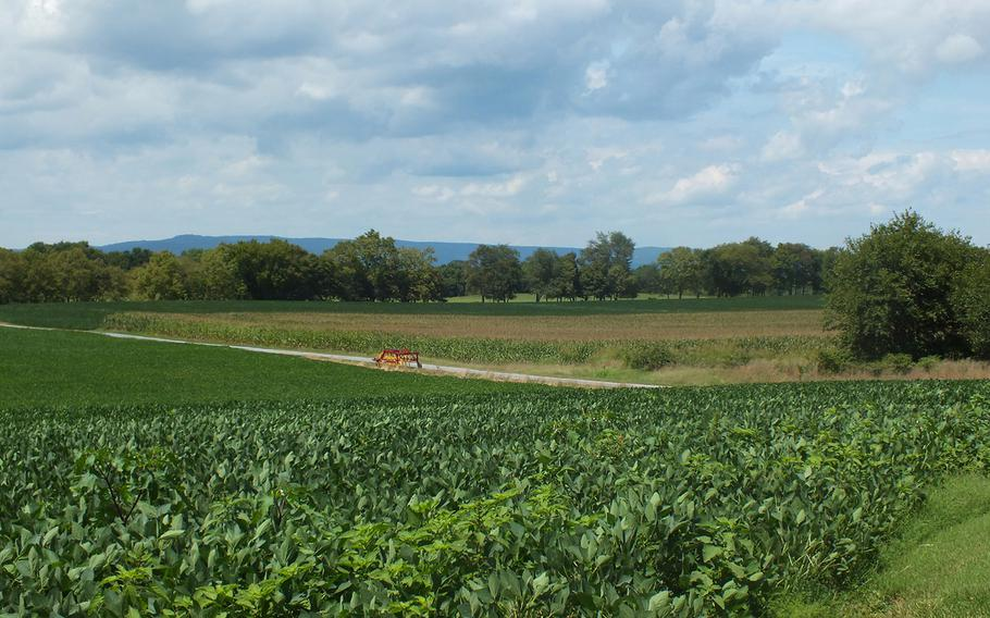 Fields of the Thomas Farm, which was the scene of the heaviest fighting in the Battle of Monocacy, July 9, 1864, near Frederick, Md.