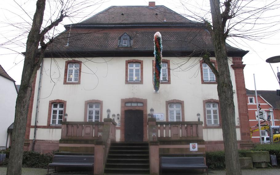 Museum im Westrich in Ramstein, Germany, shares an 18th-century building with the tourist information office in the center of the village.