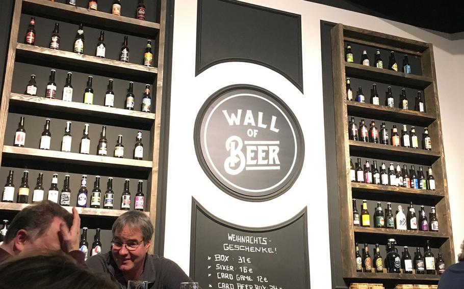 Inside Kraftpaule, a new bar in Stuttgart, patrons can sample from a wide range of craft beers. The craft beer craze that has changed the beer industry in the United States is gaining fans in Germany.