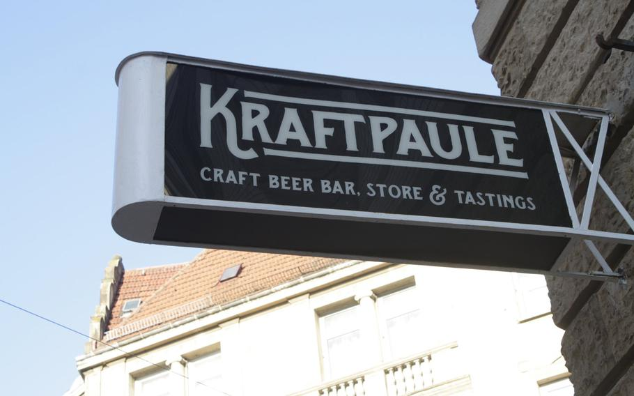 Kraftpaule offers a wide range of craft beer, with many selections from the United States. The Stuttgart bar will soon be opening a second location in the in nearby Boblingen.