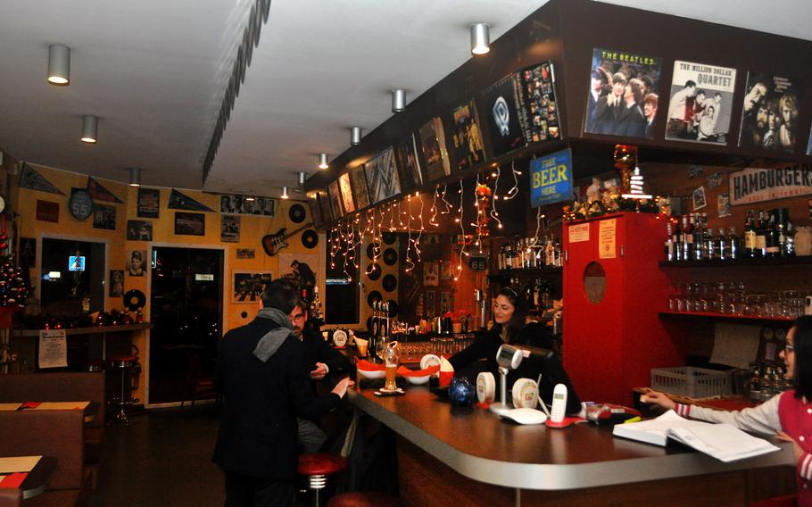 The  front room at Rico's has a bar and some seating. As with many Italian dining establishments, if you show up just after 7 p.m., you largely have the place to yourself. It gets busier as the night goes along.