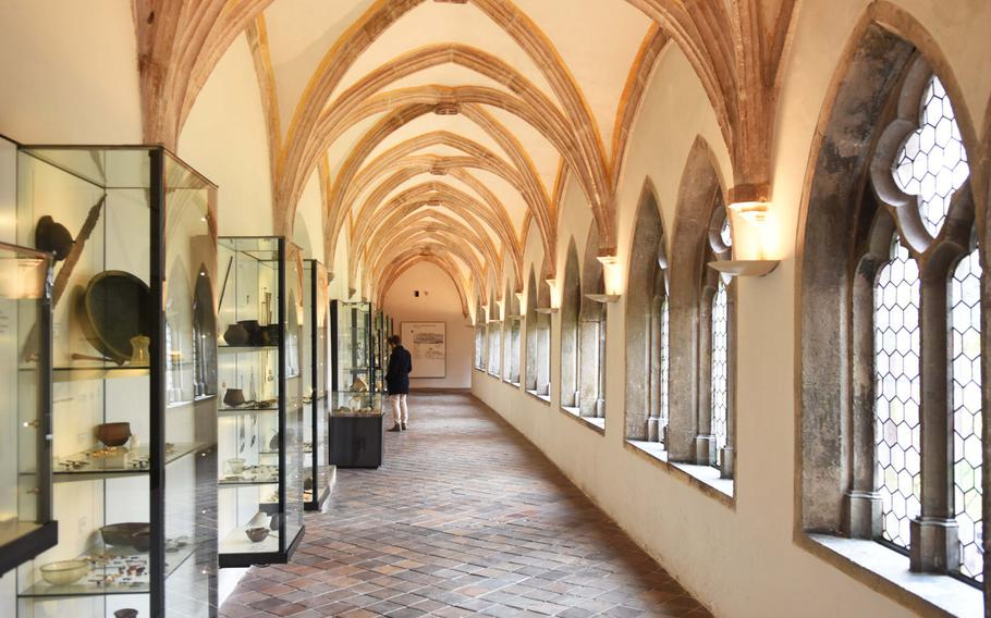 The first Middle Ages hall at the Regensburg Museum of History, housed in a 13th-century Minorite monastery, showcases objects from the very first Bavarian tribe.
