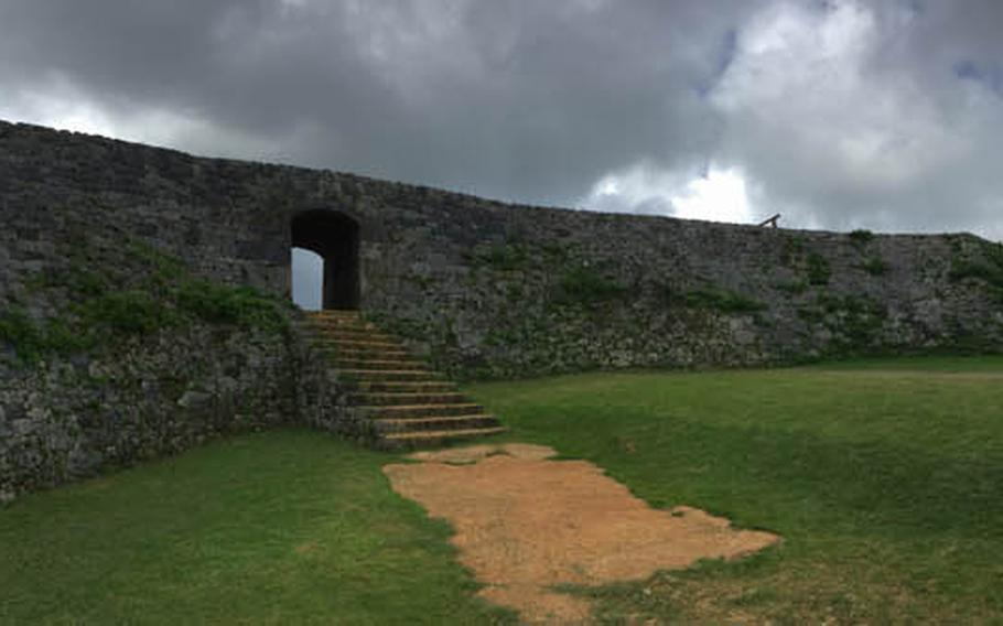 Zakimi was built in the early 15th century by Gosamaru, a Ryukyuan lord and general who ruled over what is now Yomitan, Okinawa.