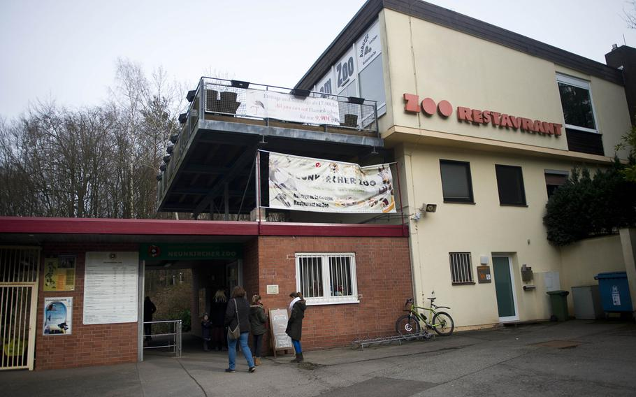 The Neunkirchen Zoo is more than 39 acres, and houses nearly 500 animals and birds.