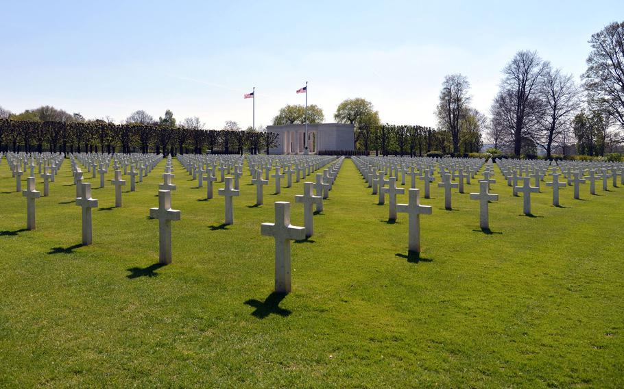 There are 4,153 American World War I dead buried at St. Mihiel American Cemetery in France.