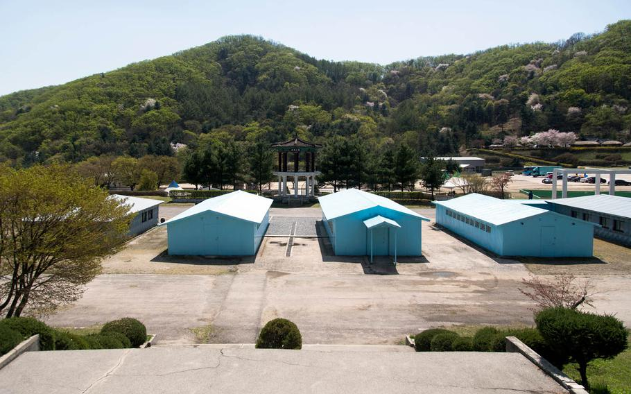 The Joint Security Area set at Namyangju Studios in Namyangju, South Korea, is open for tours.
