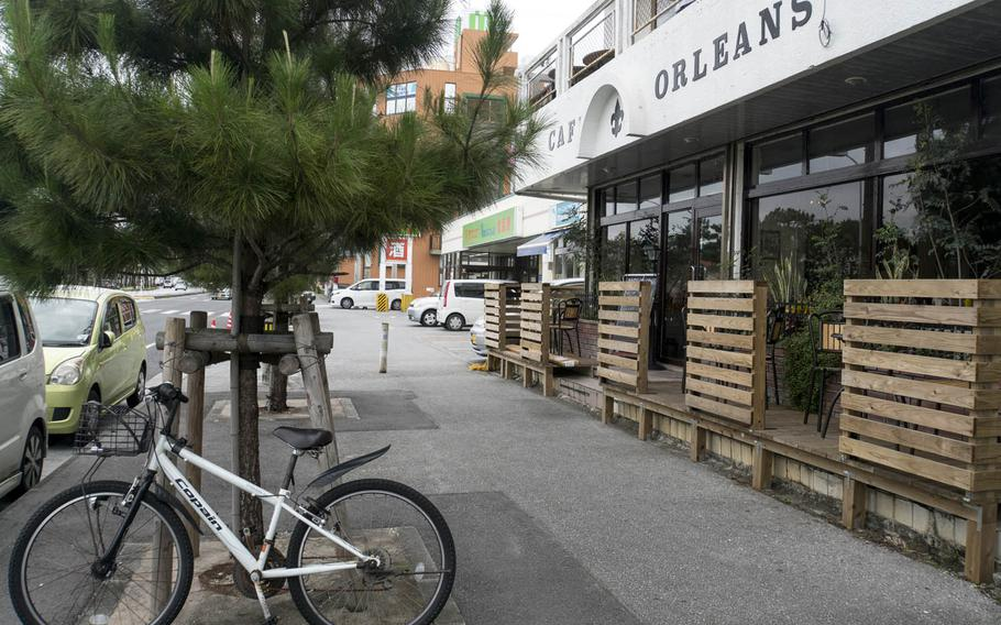 Cafe Orleans is just minutes from Camp Foster, Okinawa.