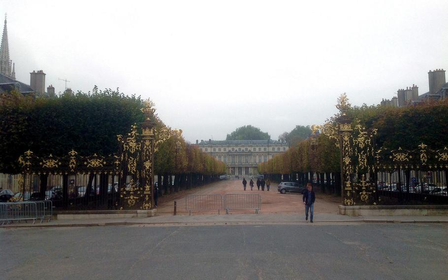 Thousands of tourists flock to Nancy to view Place Stanislas with its its elegant classical architecture and the adjoining Place de la Carriere and Place de'Alliance.