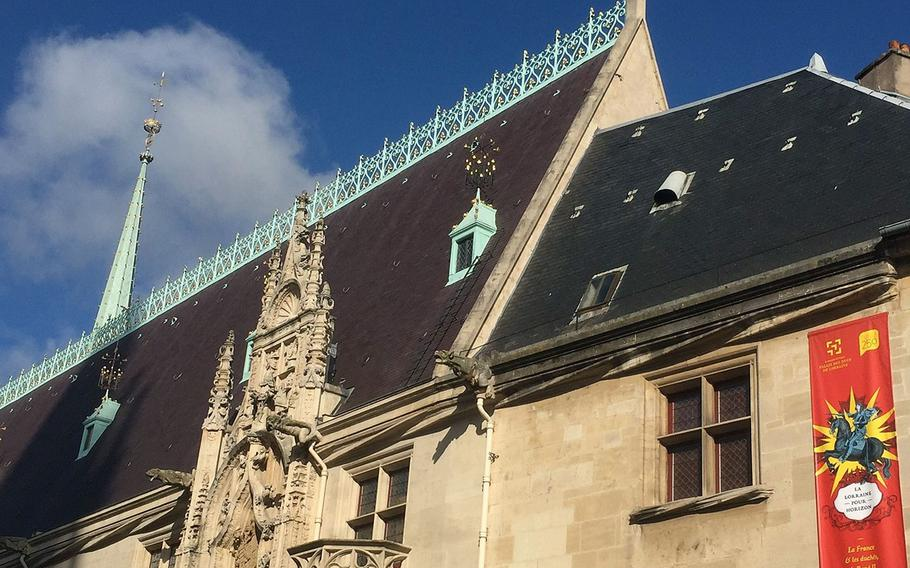 Nancy's medieval Ducal Palace, which now houses the Museum of the Lorraine, France's northeastern region.