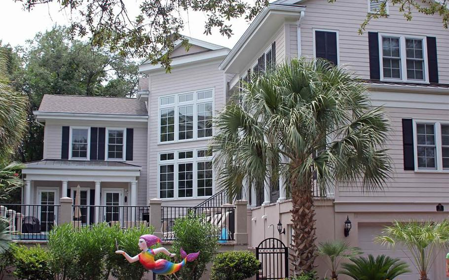 """Castle by the Sea on Hilton Head Island, S.C., has the beach, a pool, and an elevator -- all with Savannah, Ga., nearby. The vacation rental is one of six that Frommers is offering to families of retired military members for a free five-night stay through its """"6 for 60"""" contest."""