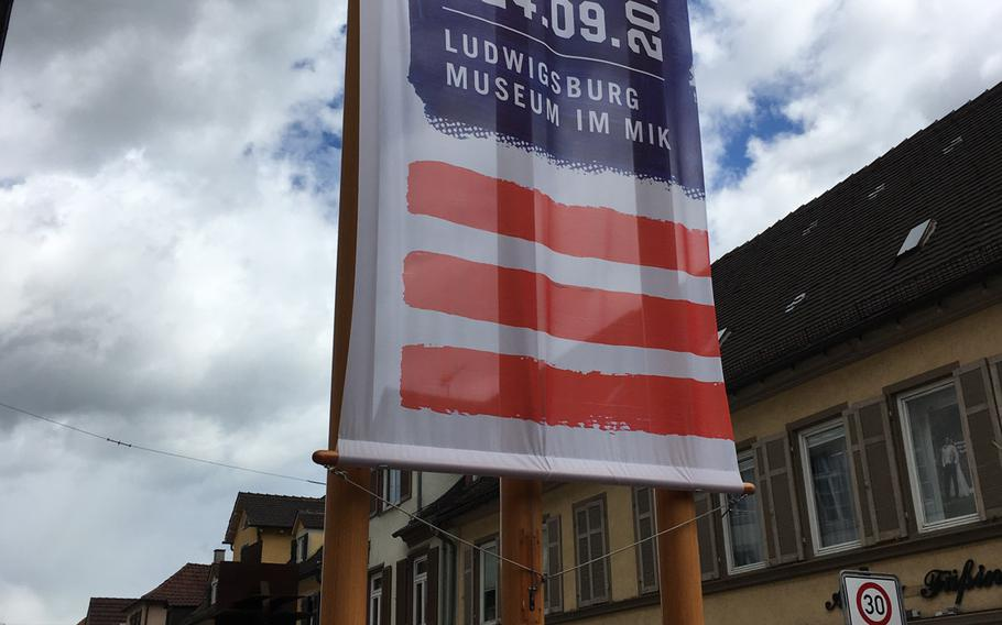 The city museum in Ludwigsburg is holding an exhibit that commemorates the U.S. Army's history in the southern German city, which lasted nearly 50 years and ended in 1993. the exhibition includes photos and memorabilia from the old barracks in town.