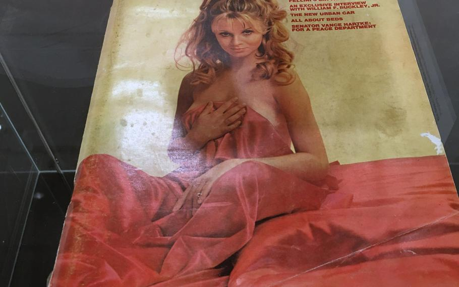 In 1970, a Playboy magazine cost $1 and was popular reading material among the soldiers.