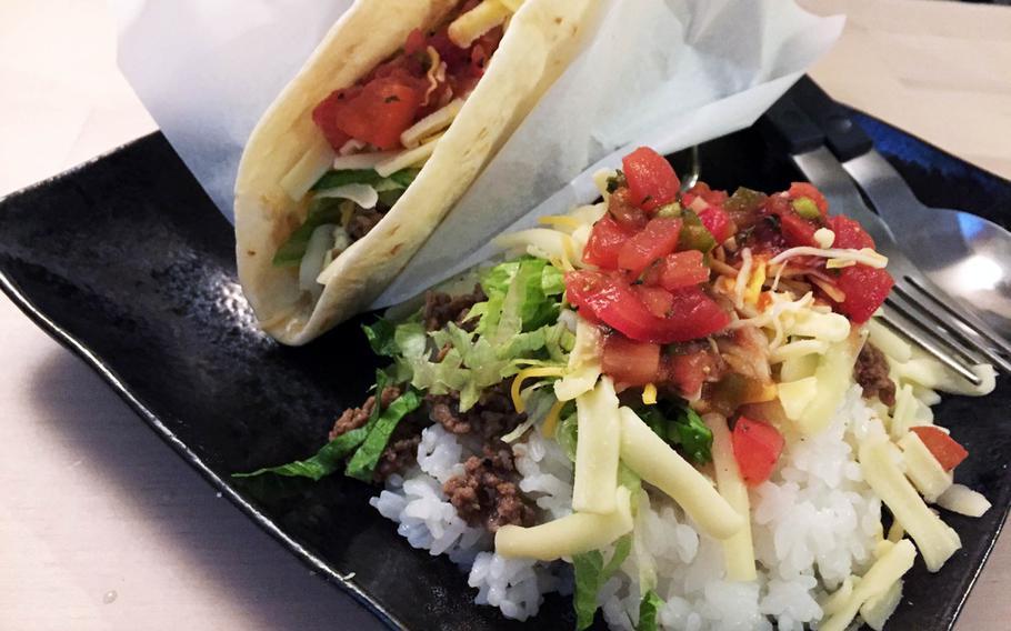 Tacos House YAS near Yokosula Naval Base, Japan, offers high-quality ingredients.