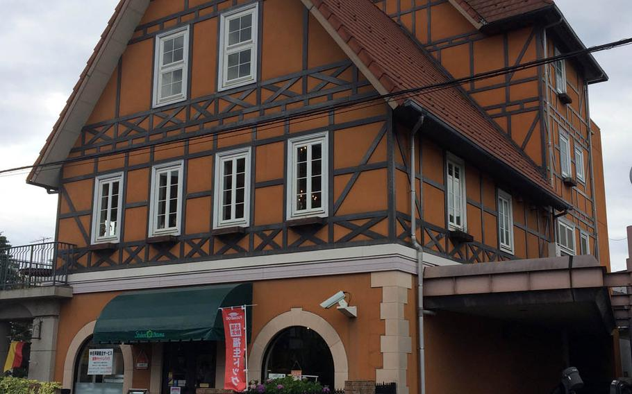 Those living at Yokota Air Base in western Tokyo have likely passed by Stuben Ohtama, a German restaurant housed in an orange European-looking building with a pointed roof near Fussa Station.