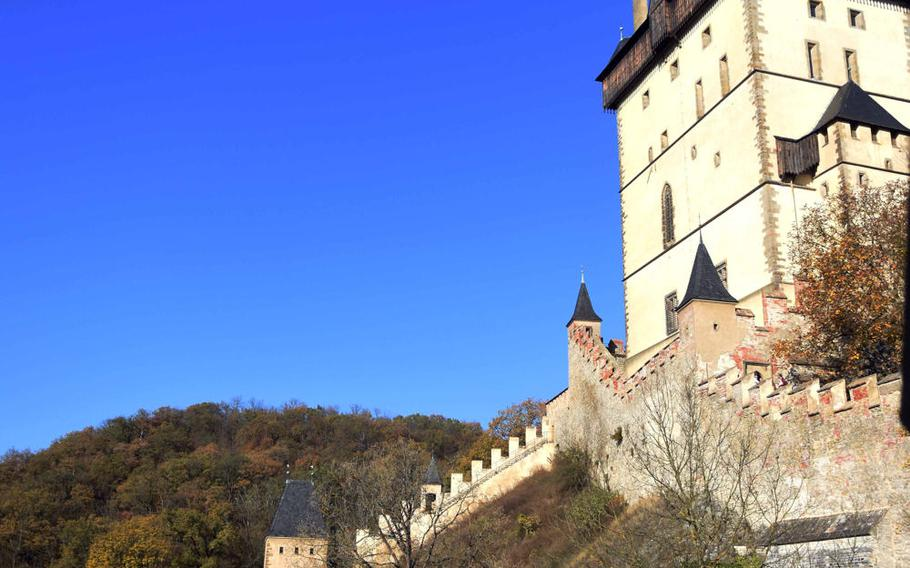 Karlstejn, the hilltop fortress of Holy Roman Emperor Charles IV, is not your run-of-the-mill castles.