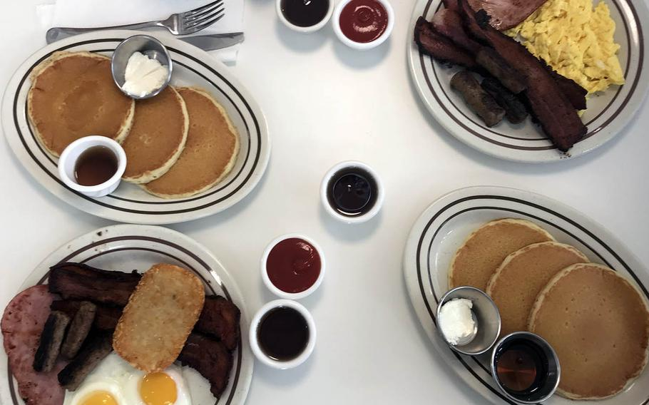 The offerings available at the Original Pancake House's Camp Humphreys location will be familiar to fans of the restaurant chain, which got its start in Portland, Ore., albeit with more limited choices.