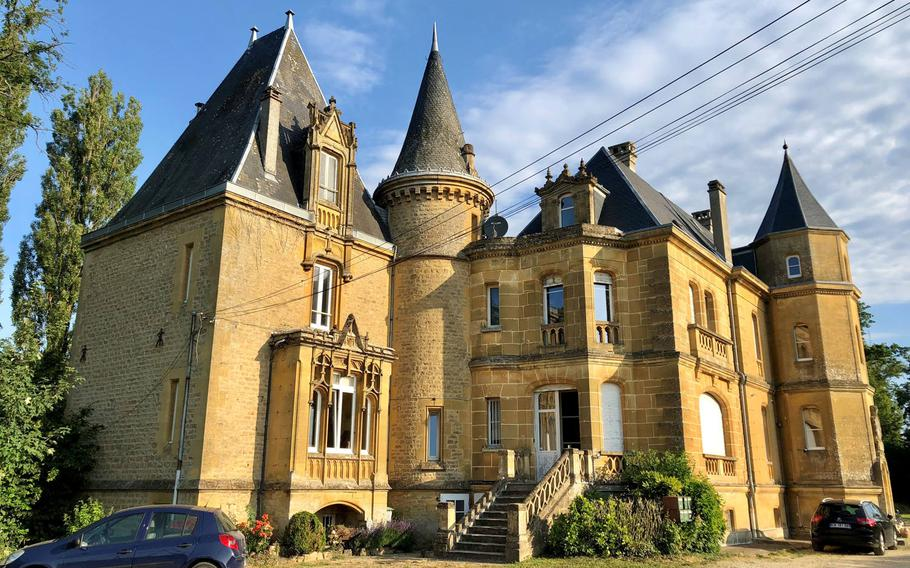 The Chateau de Bellevue on the outskirts of Sedan, Where French Emperor Napoleon III surrendered to Kaiser William I, after the Battle of Sedan during the Franco-Prussian War. The French defeat led to the unification of Germany.