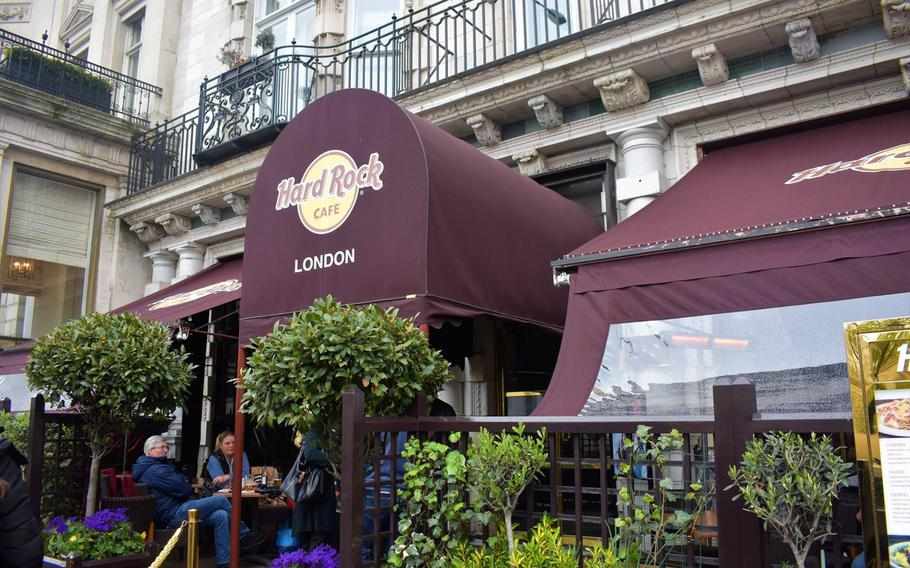 There are Hard Rock Cafe locations, both legitimate company restaurants and illicit copycats, all over the world. The original, founded in 1971, is nestled between Hyde Park and Buckingham Palace in London.