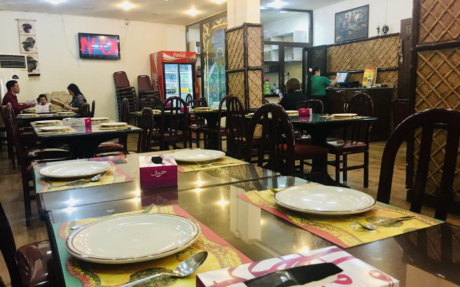 Simple decor, friendly service and great Filipino food are hallmarks of the Bahay Kubo restaurant in Manama, Bahrain.