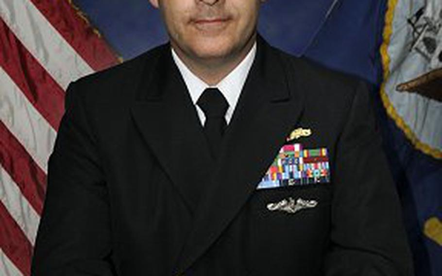 Lt. Cmdr. Kurt Boenisch