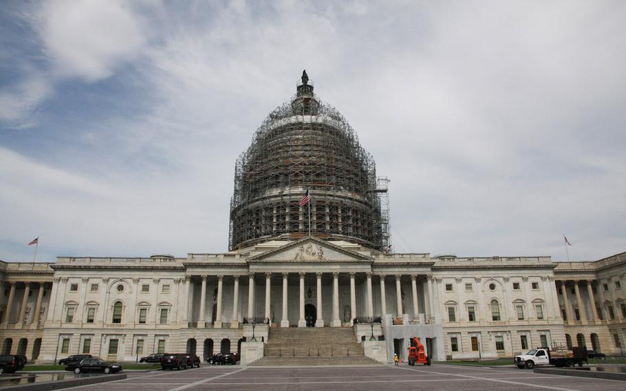 The U.S. Capitol on July 9, 2015.