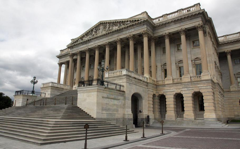 The House of Representatives side of the U.S. Capitol, on July 15, 2015.