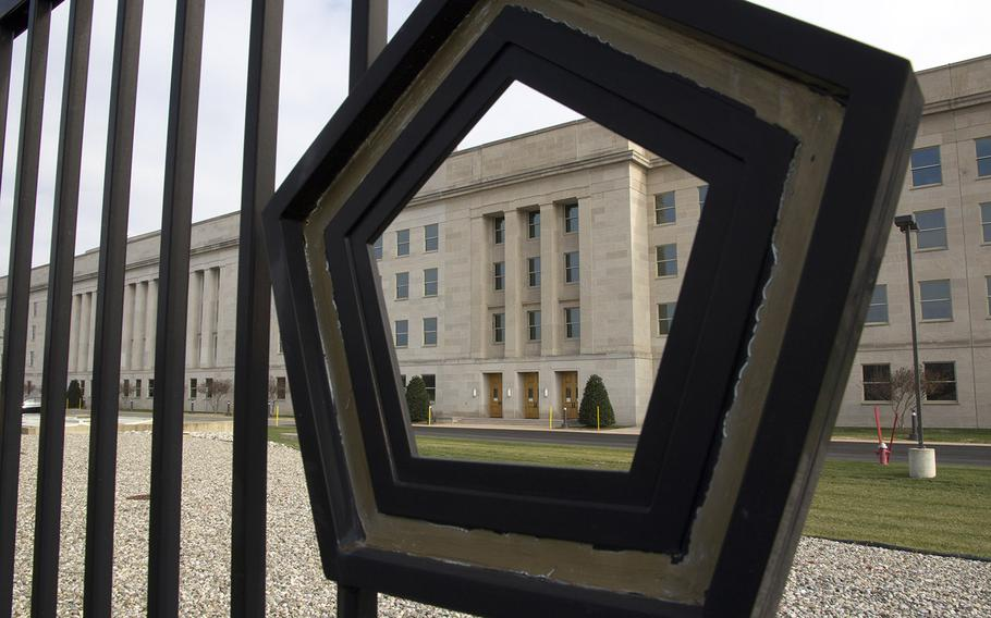 The Pentagon is shown in this undated file photo.