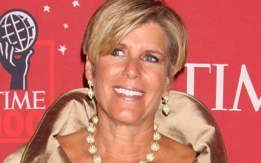 In a May, 2008 file photo, Suze Orman attends Time's 100 Most Influential People in the World Gala at Lincoln Center in New York City.