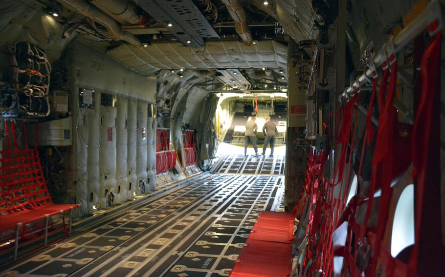 The new C-130J Super Hercules aircraft are 15 feet longer than the planes they will replace, allowing them to transport more personnel and cargo.