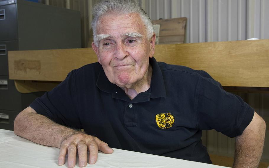 Retired U.S. Marine Corps Maj. John Fasulo at Fort A.P. Hill, Va., in June, 2017.