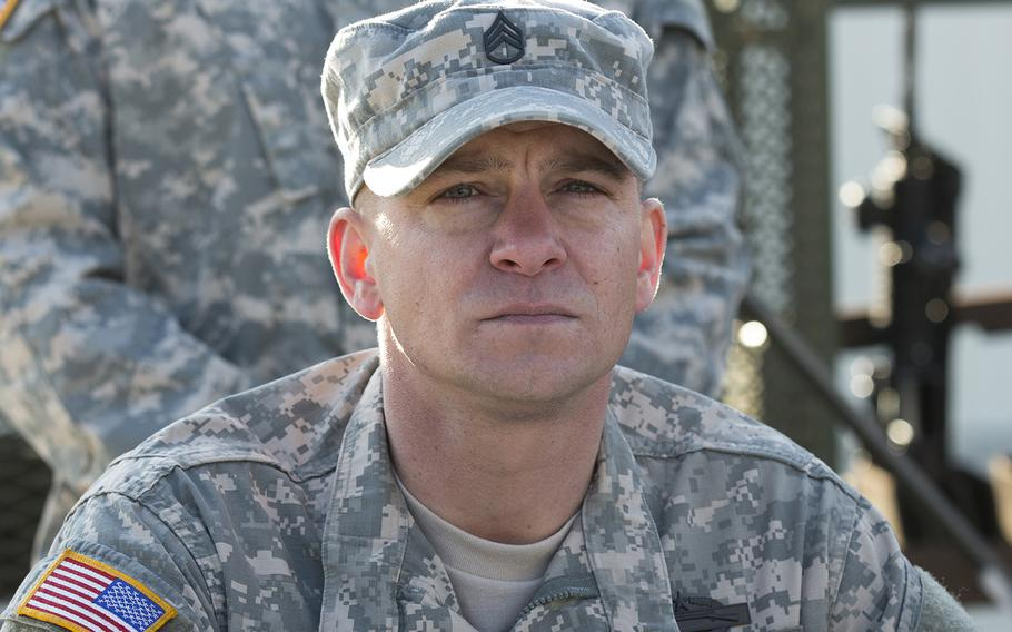 """The real Adam Schumann, in his small role in """"Thank You for Your Service."""""""