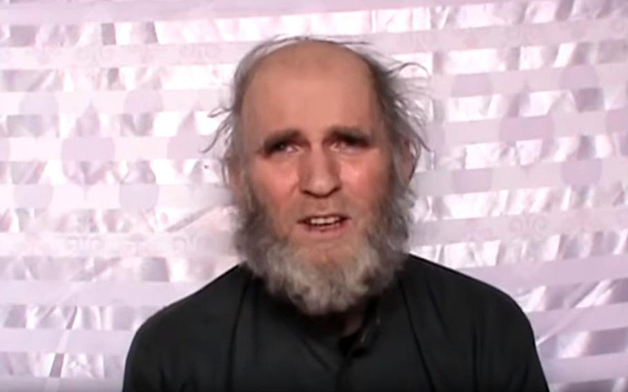 The Taliban say the health of American hostage Kevin King is ''deteriorating rapidly'' and that they will not be responsible for his death if the U.S. does not meet their demand to release imprisoned militants.   YouTube screenshot