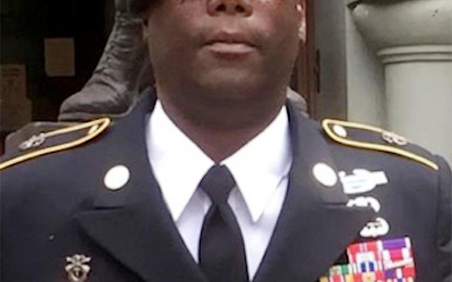 Pictured here, Papotia Reginald Wright's military record does not support his claims to have been in Special Forces. According to investigations by multiple groups, the supposed Special Forces veteran vastly inflated his military service to include medals for valor.