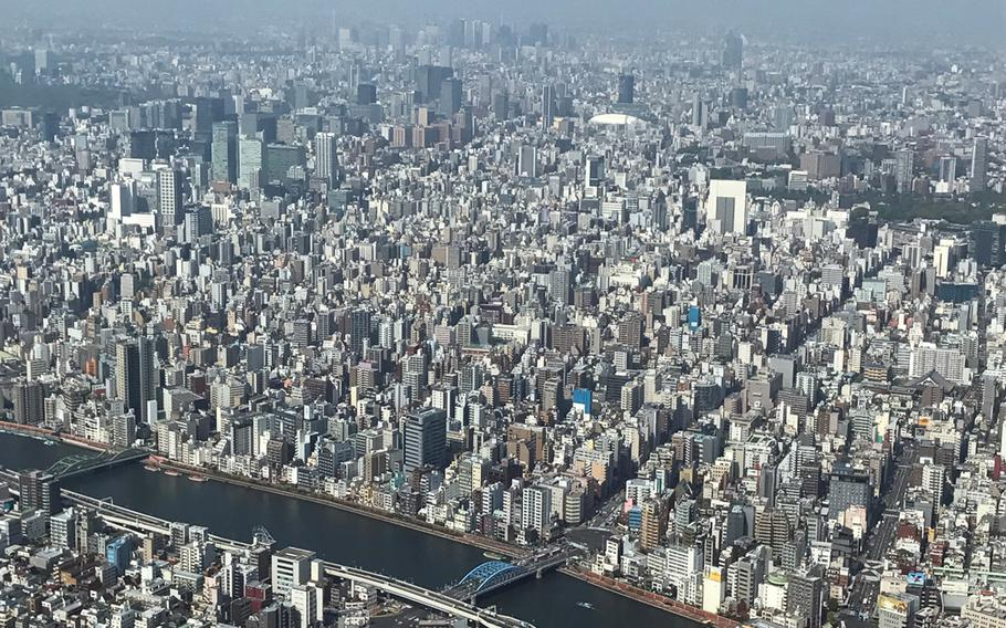 On a clear day, visitors to Tokyo Skytree can even get a glimpse of Mt. Fuji.