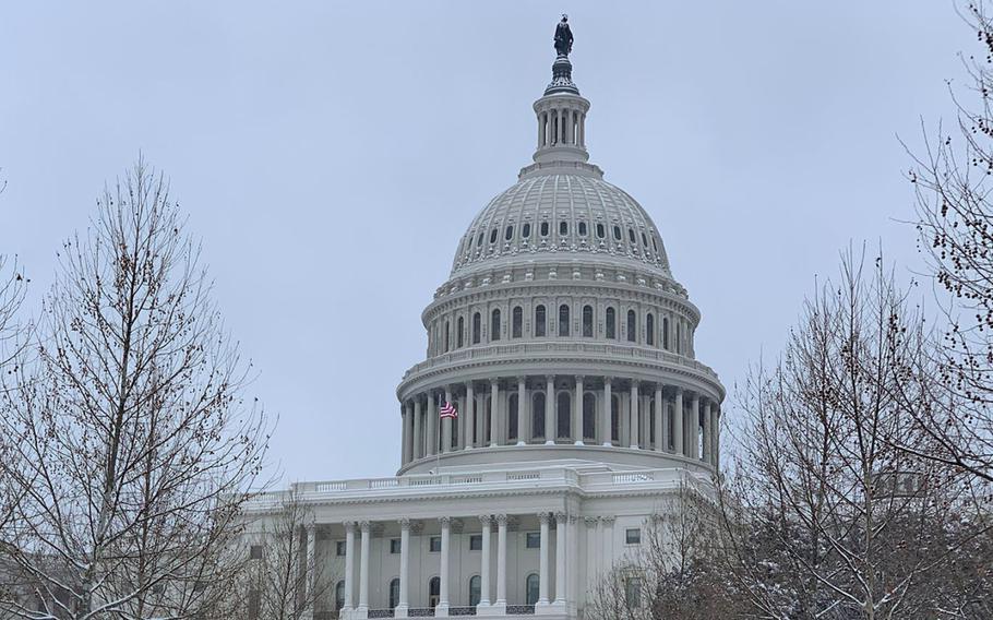 he U.S. Capitol Building as seen on Jan. 13, 2019.