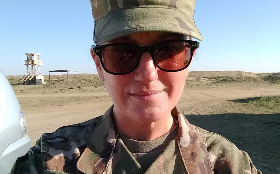Army Sgt. Holli Bolinski was one of the soldiers killed in a vehicle wreck in Kuwait on March 5, 2019, according to her husband, Robert Bolinski.