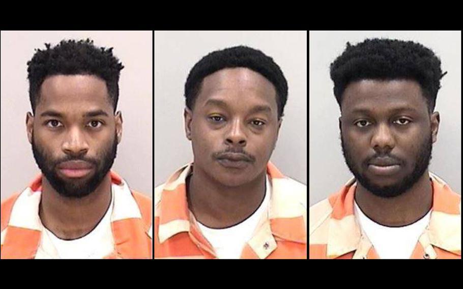 From left: Teddy Diake, Johnathan Augustus, and Michael Billington.