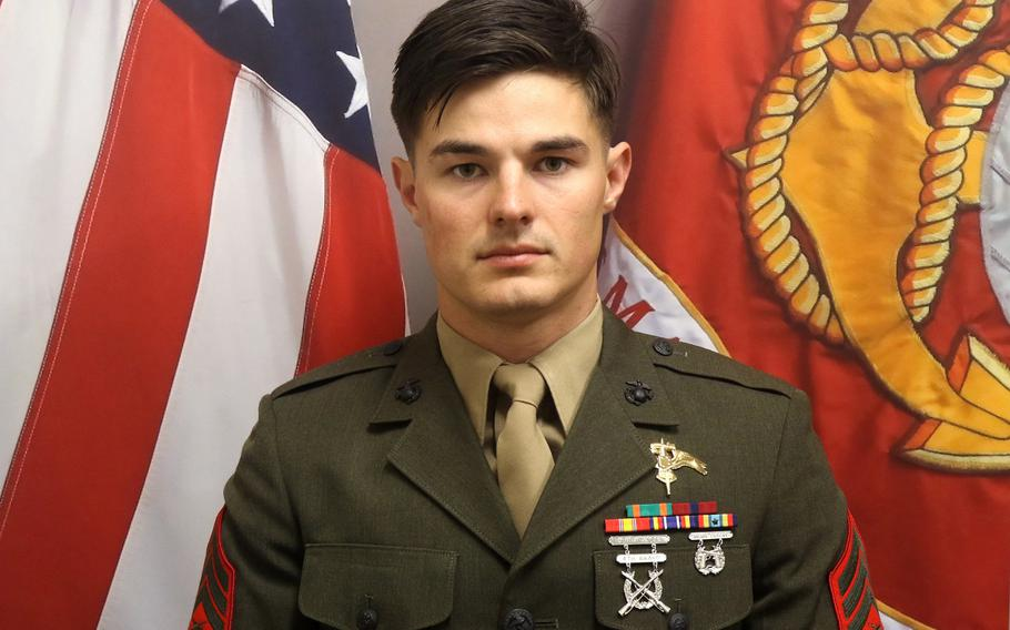 Staff Sgt. Joshua Braica, 1st Marine Raider Battalion, Marine Raider Regiment, MARSOC, died April 14, 2019, from injuries sustained when his tactical vehicle experienced a rollover during a training exercise at Camp Pendleton, Calif., April 13.