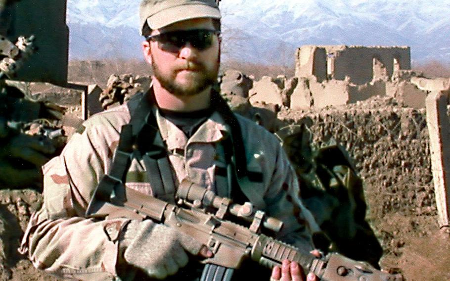 Air Force Tech. Sgt. John A. Chapman, a combat controller, was killed during a fierce battle against al Qaida fighters in Takur Ghar, Afghanistan, March 4, 2002. He was posthumously awarded the Medal of Honor and promoted to master sergeant.