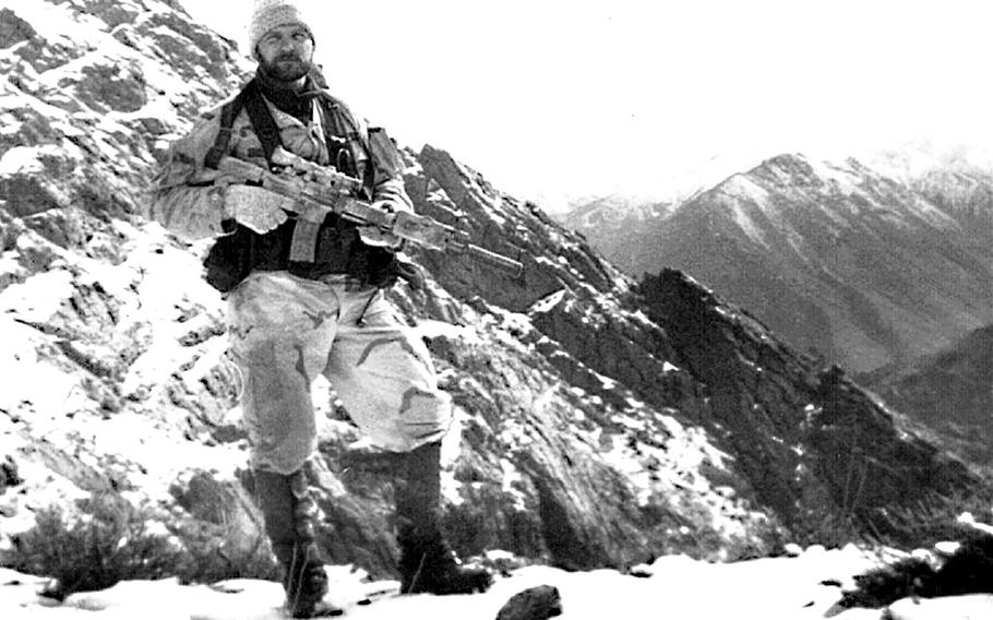 Air Force Tech. Sgt. John A. Chapman was posthumously awarded the Medal of Honor. Chapman also was posthumously promoted to master sergeant.