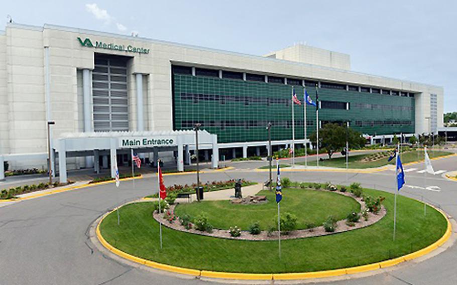 The Minneapolis VA facility.